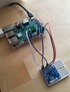 Raspberry Pi + AS9535 Lightning sensor